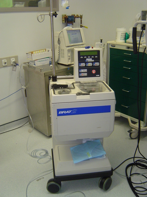 blood salvage machine for bloodless heart surgery