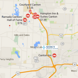 mercy medical center map